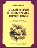 Catálogo de documentos de libreros, impresores, artesanos y artistas